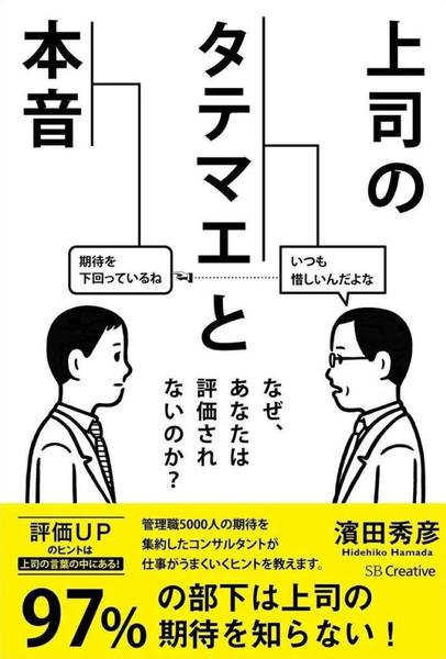 上司のタテマエと本音