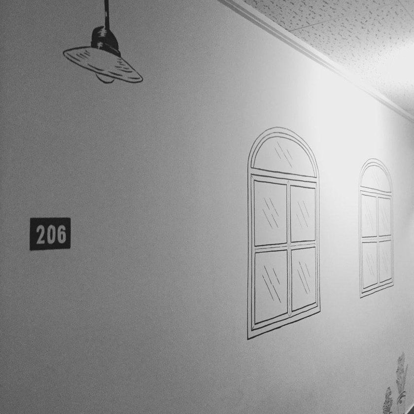 dieci 206 Wall Drawing