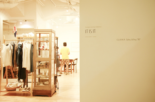 """IT IS IT CLASKA Gallery & Shop """"DO"""" 渋谷店"""
