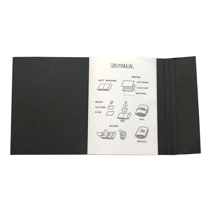 SBN (Super Binding Notebook) [black]