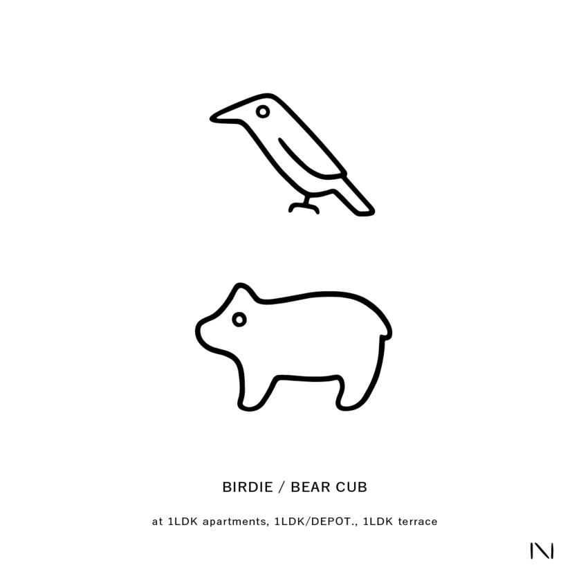 BIRDIE / BEAR CUB